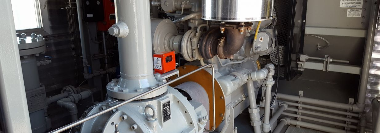 Surplus Reconditioned Natural Gas Screw Compressor Package